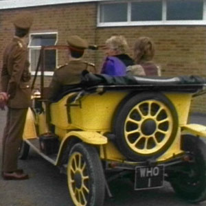 Terror of the Autons Bessie Appearance