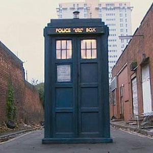 War doctor tardis exterior