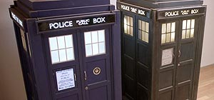 1963 TARDIS Police Box Exterior